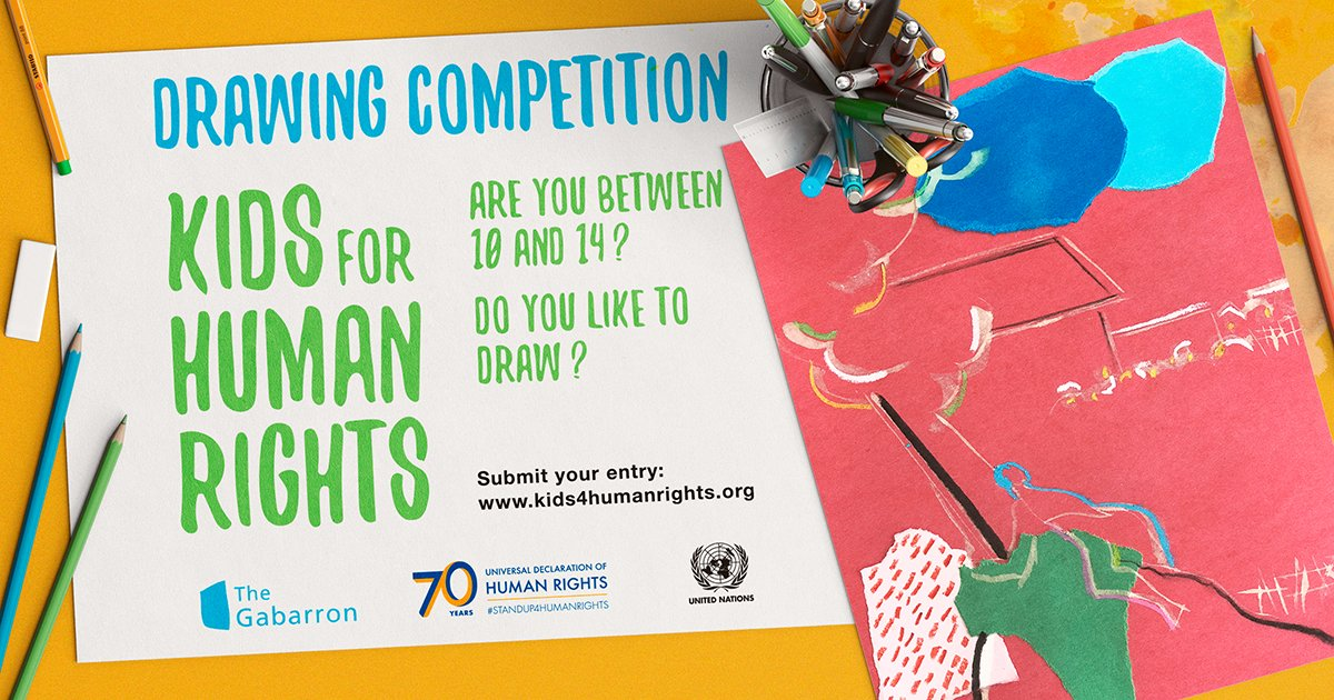#KIDS4HUMANRIGHTS/An international drawing competition for young people