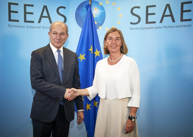 OPCW Director-General Meets with High Representative of the European Union for Foreign Affairs and Security in Brussels