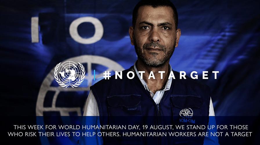 WORLD HUMANITARIAN DAY 2018 #NOTATARGET