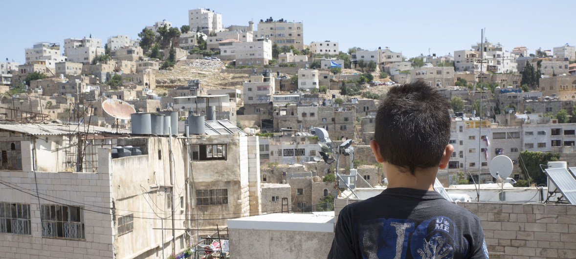 UN officials call for children's rights to be respected in Occupied Palestinian Territory and Israel