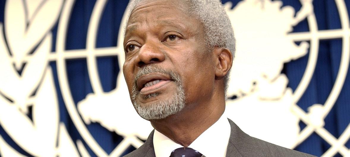 UN mourns the death of former Secretary-General Kofi Annan