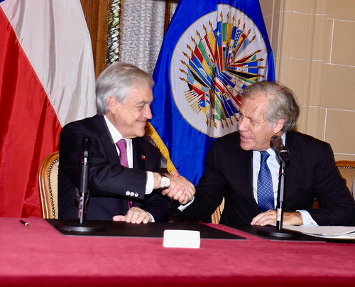 The OAS and Chile Expand Cooperation in Cybersecurity