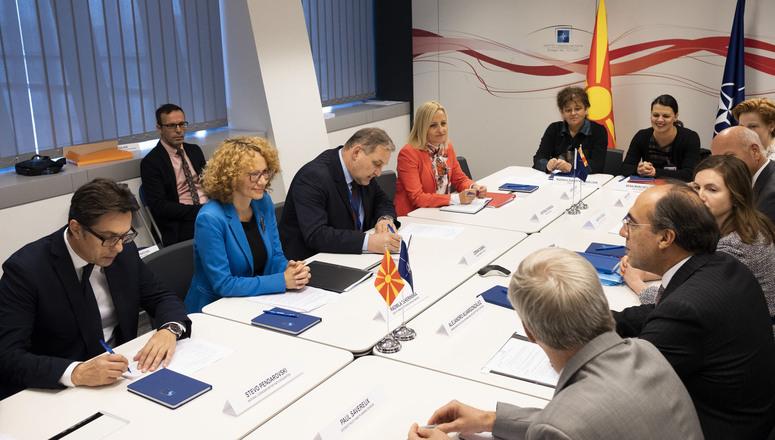 Formal Accession Talks with Skopje begin at NATO Headquarters