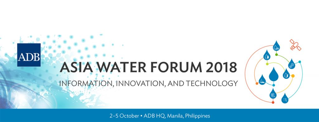 Fifth Asia Water Forum Discusses Innovation and Technology to Address Asia's Water Challenges