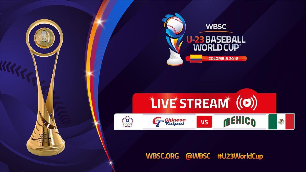 Chinese Taipei v Mexico – U-23 Baseball World Cup 2018