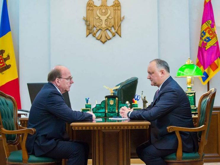 Moldova: Igor Dodon had a meeting with Russian Ambassador