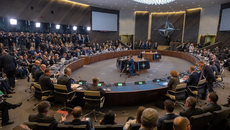 NATO Defence Ministers meet to address Russia's violation of the INF Treaty