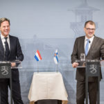 Prime Minister Sipilä discussed the EU's future with Prime Minister of Slovenia Šarec and Dutch Prime Minister Rutte