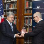The Ukrainian President received the International Statesman Reward in Philadelphia