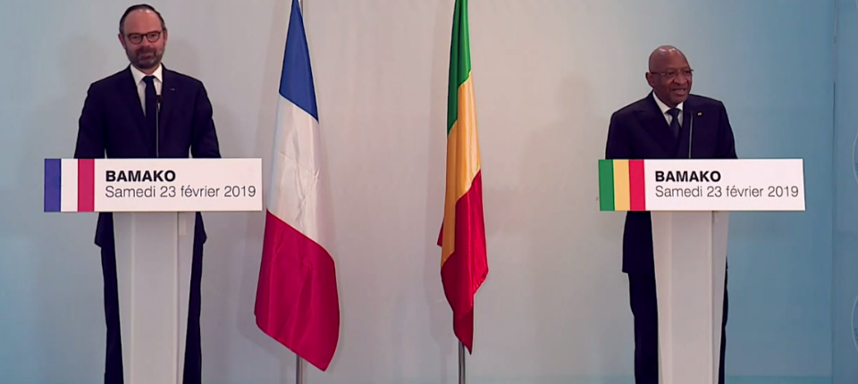 "France and Mali are on the road to addressing all the challenges"" of democracy and prosperity"