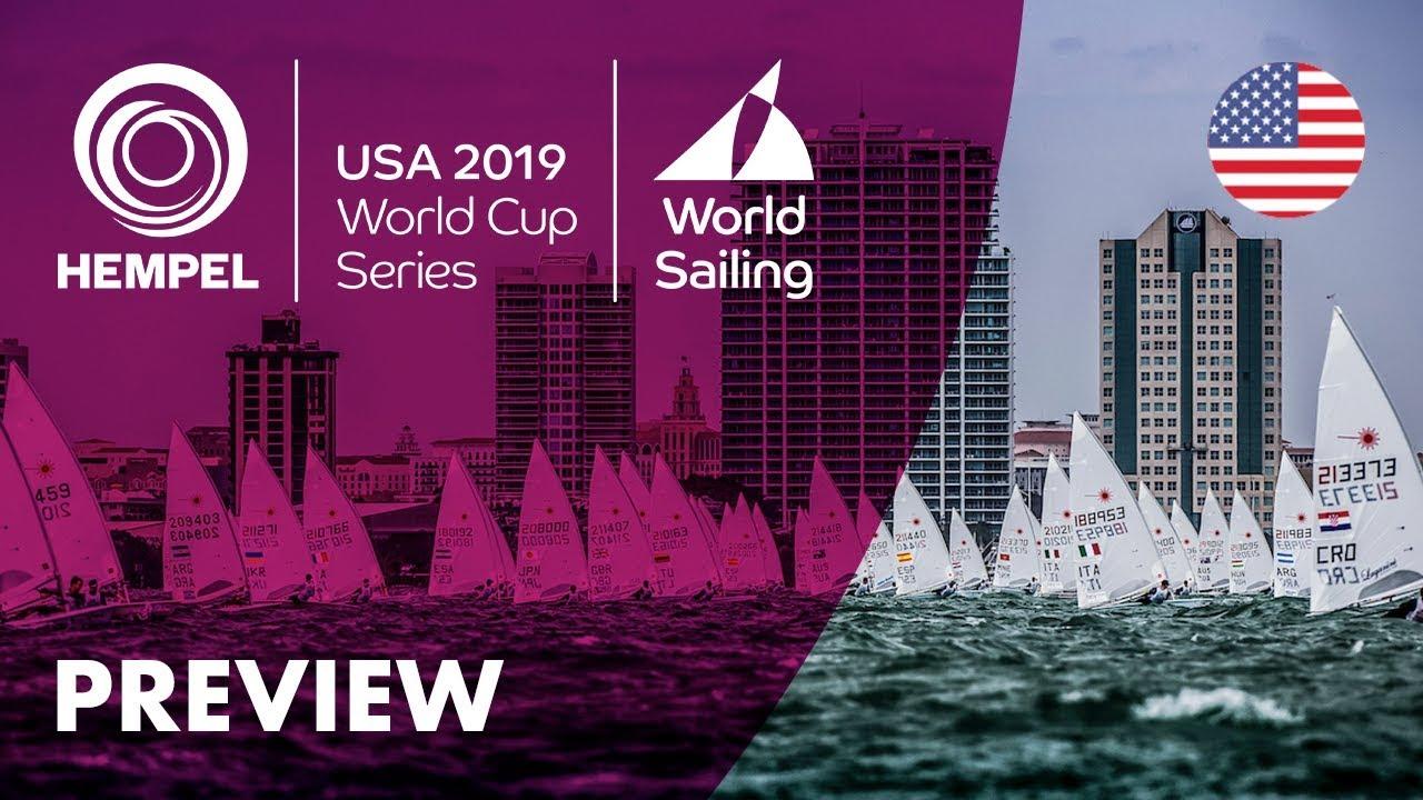 World Sailing:  Medal Races/ Hempel World Cup Series Miami 2019