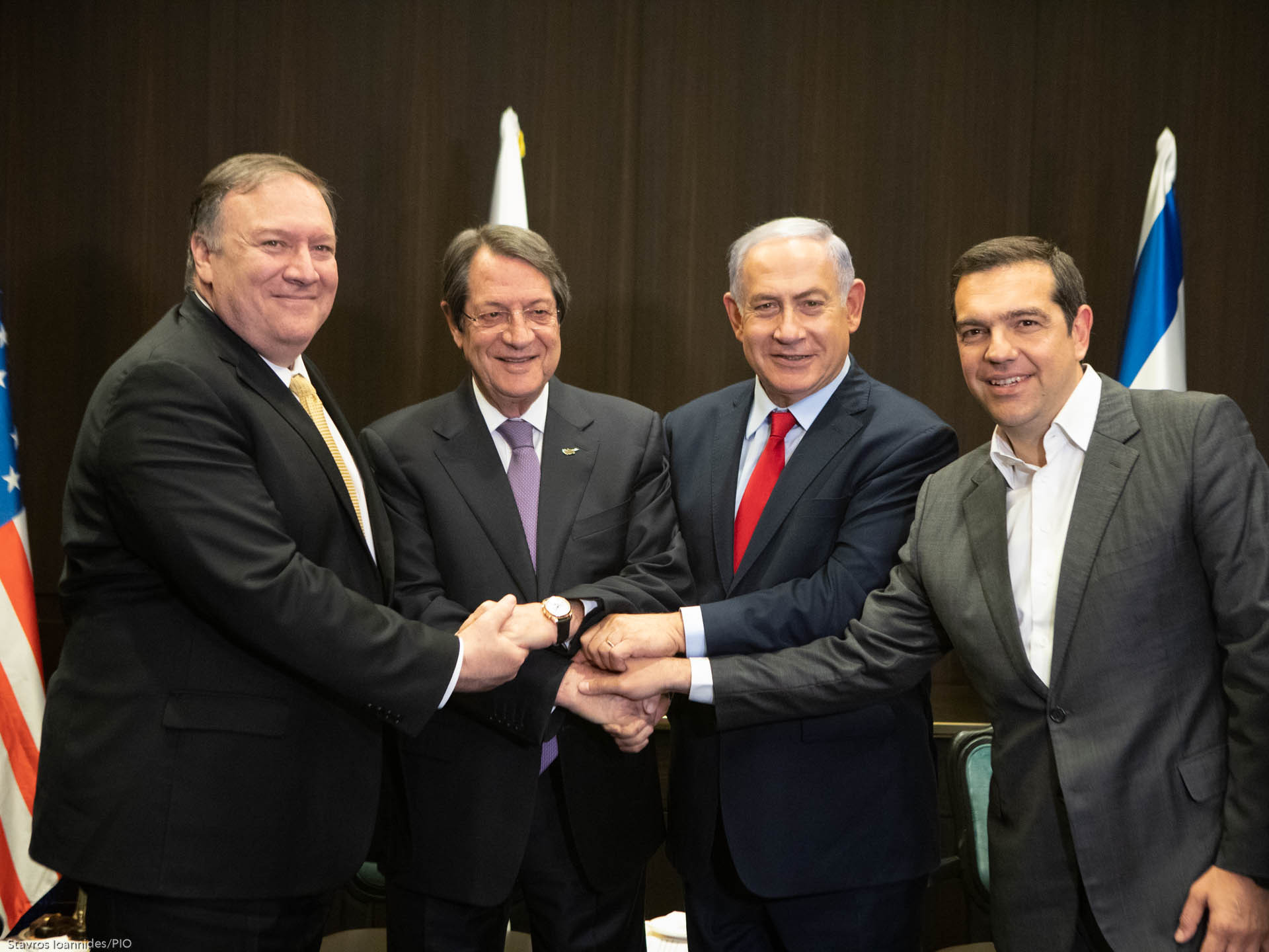 Joint Declaration between Cyprus-Greece- Israel-USA