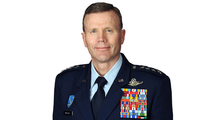 General Tod Wolters, U.S Air Force, to the post of Supreme Allied Commander Europe