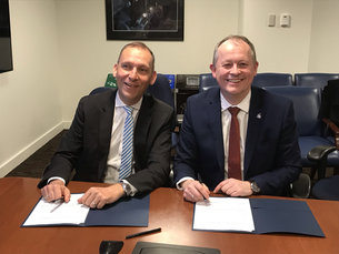 ESA and NASA signed a Statement of Intent for Lunar Science
