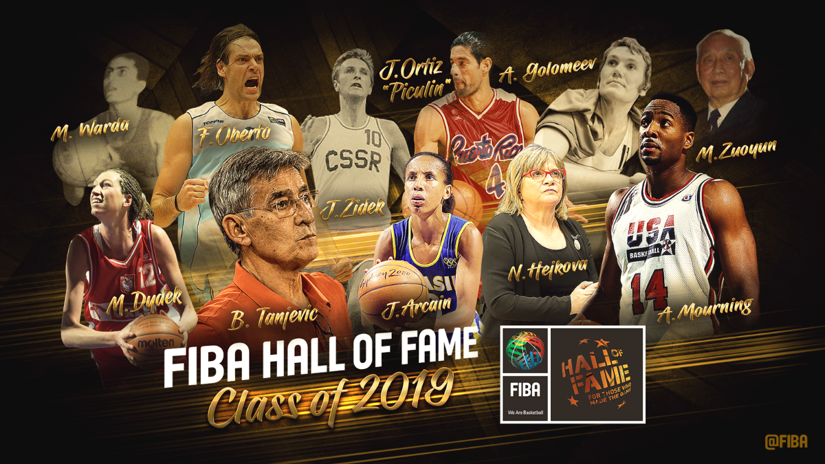 2019 Class of the FIBA Hall of Fame