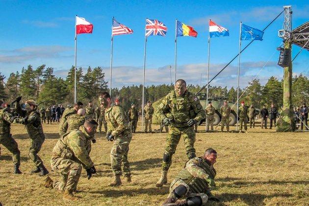 Croatian soldiers mark 20th anniversary of Poland in NATO