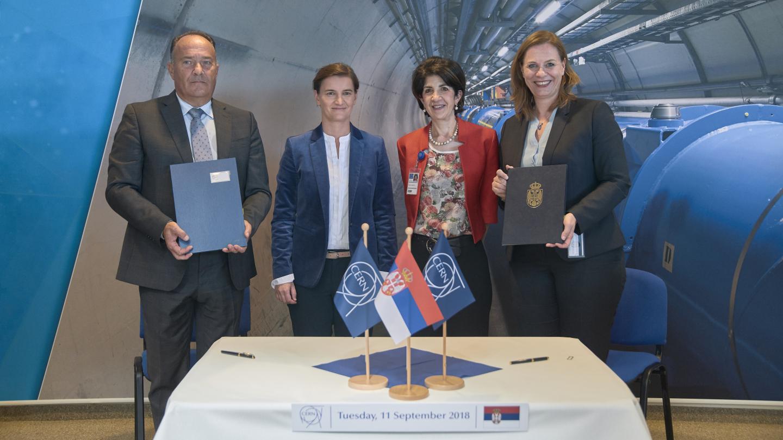 Serbia joins CERN