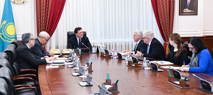 A Kazakh-British investment forum will be held in London in October