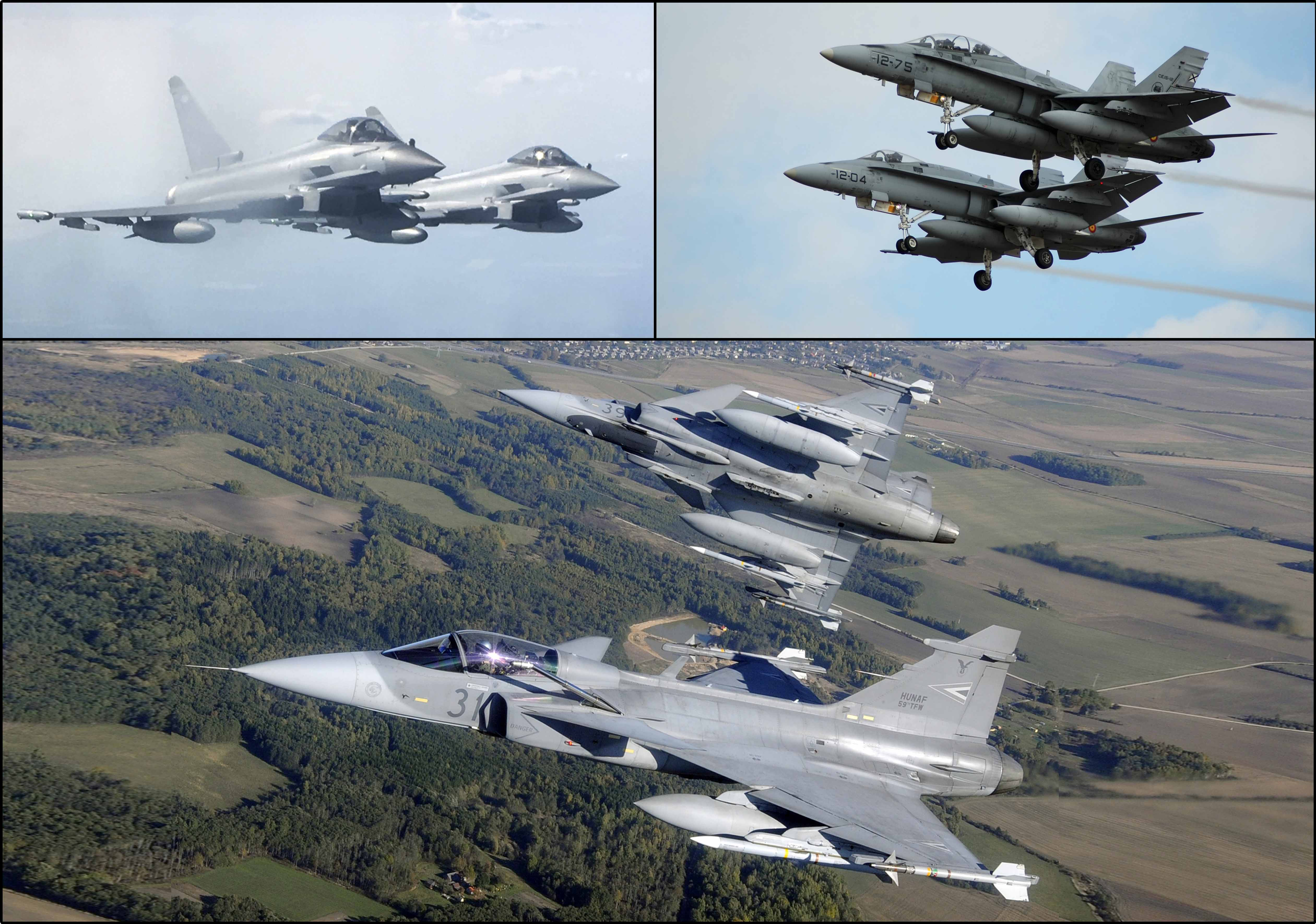 Hungary, augmented by the United Kingdom and Spain, will lead 50th NATO Baltic Air Policing detachment