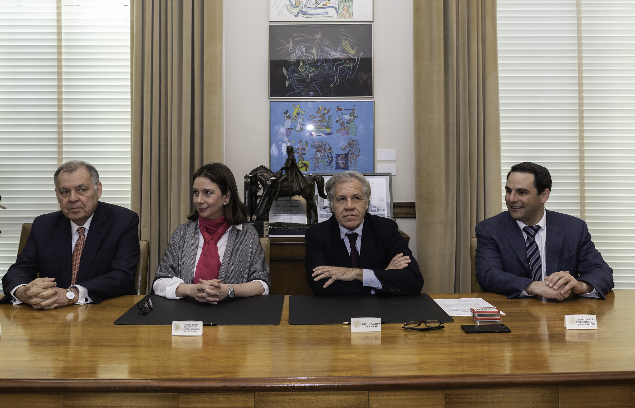 OAS and Colombia Sign Agreement to Hold 49th General Assembly in Medellin