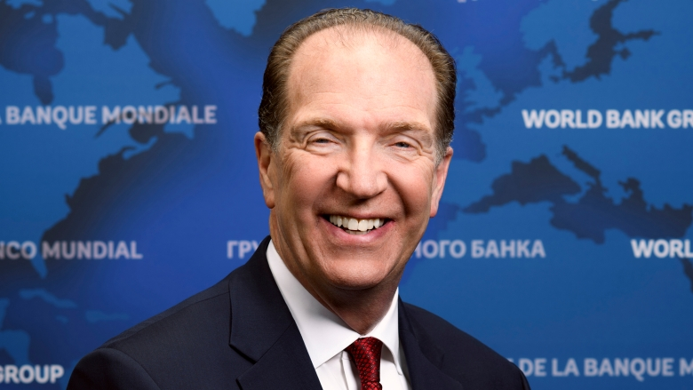 David Malpass is the 13th President of the World Bank Group
