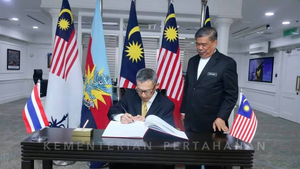 Malaysia-Thailand Strengthens Bilateral Ties in the field of Defense