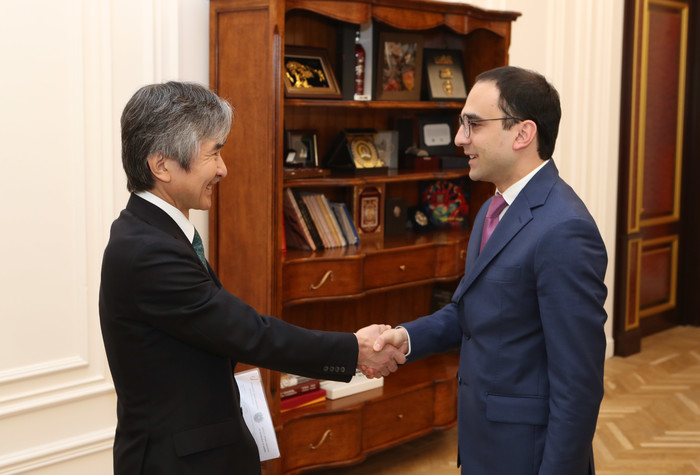 Ambassador of Japan to Armenia