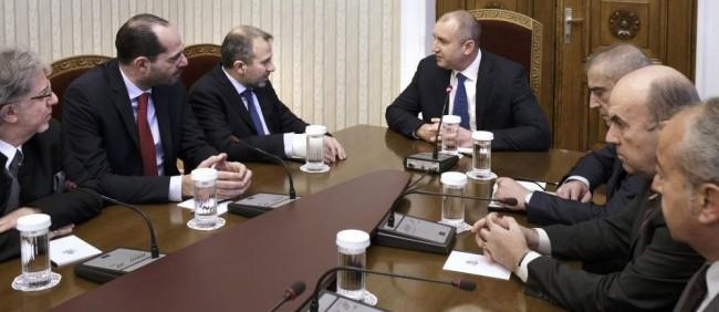 Rumen Radev: EU should engage more  in the stability in the Middle East