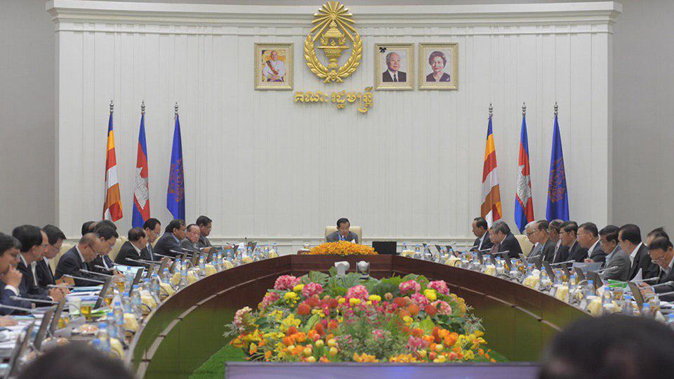 Cambodian Cabinet Approves Draft Law on Oil Management