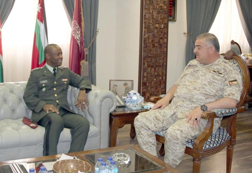 Liberia and Jordan Enhance Military to Military Cooperation
