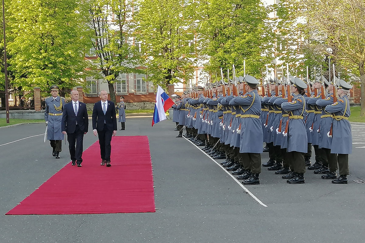 First Official visit of the Croatian Defence Minister to Slovakia over the past 7 years