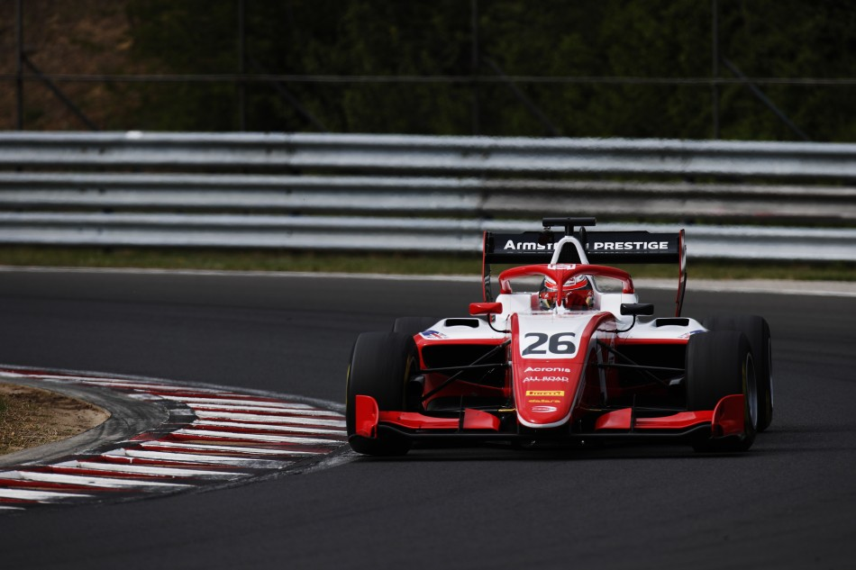 F3 Test Day 1: Budapest and Barcelona