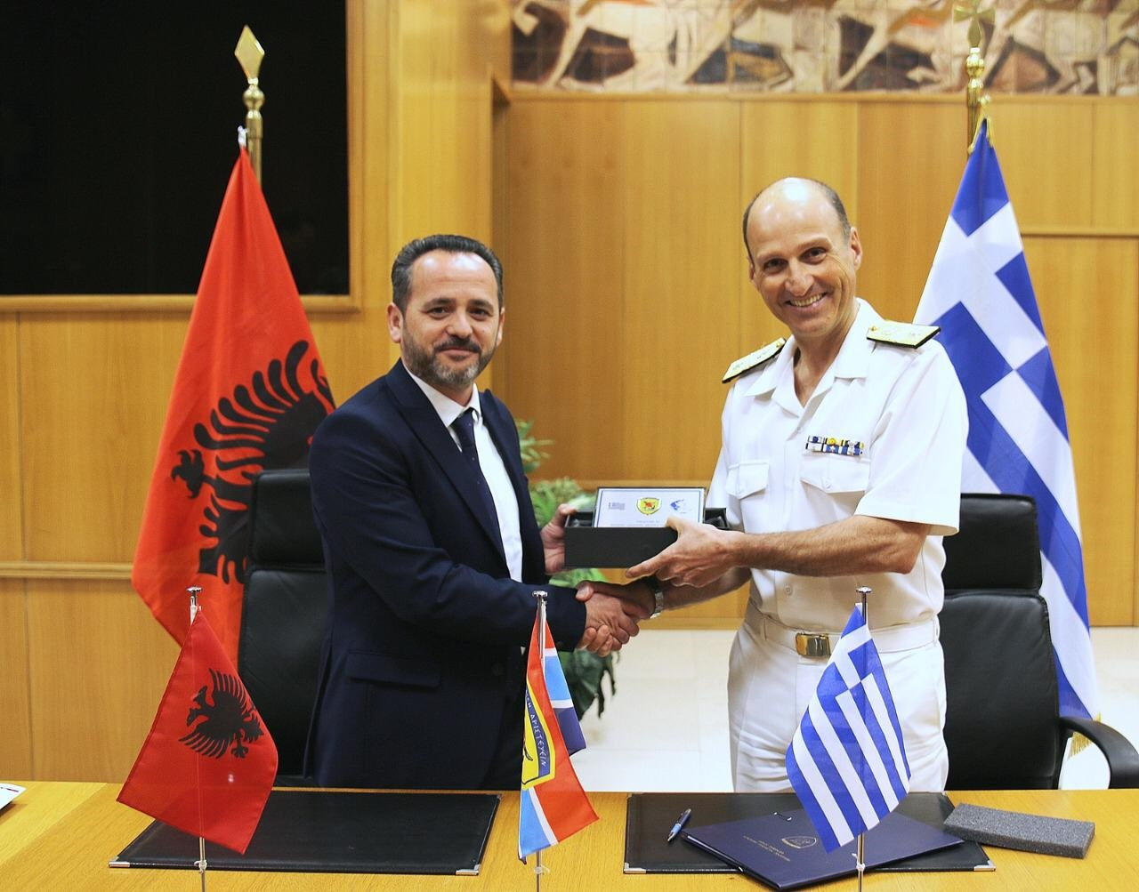 The Military Cooperation Program is Signed Between Albania and Greece