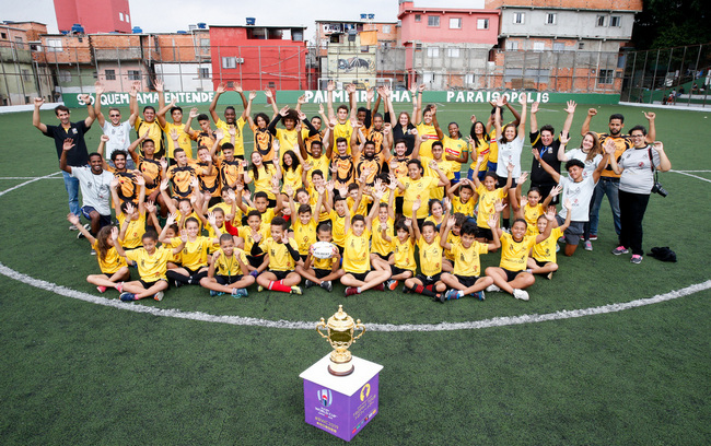 Brazil Welcomes the Rugby World Cup 2019 Trophy Tour