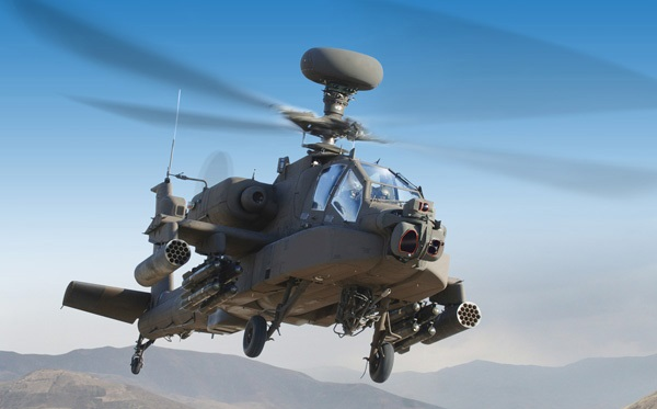 First Apache Handed Over to India