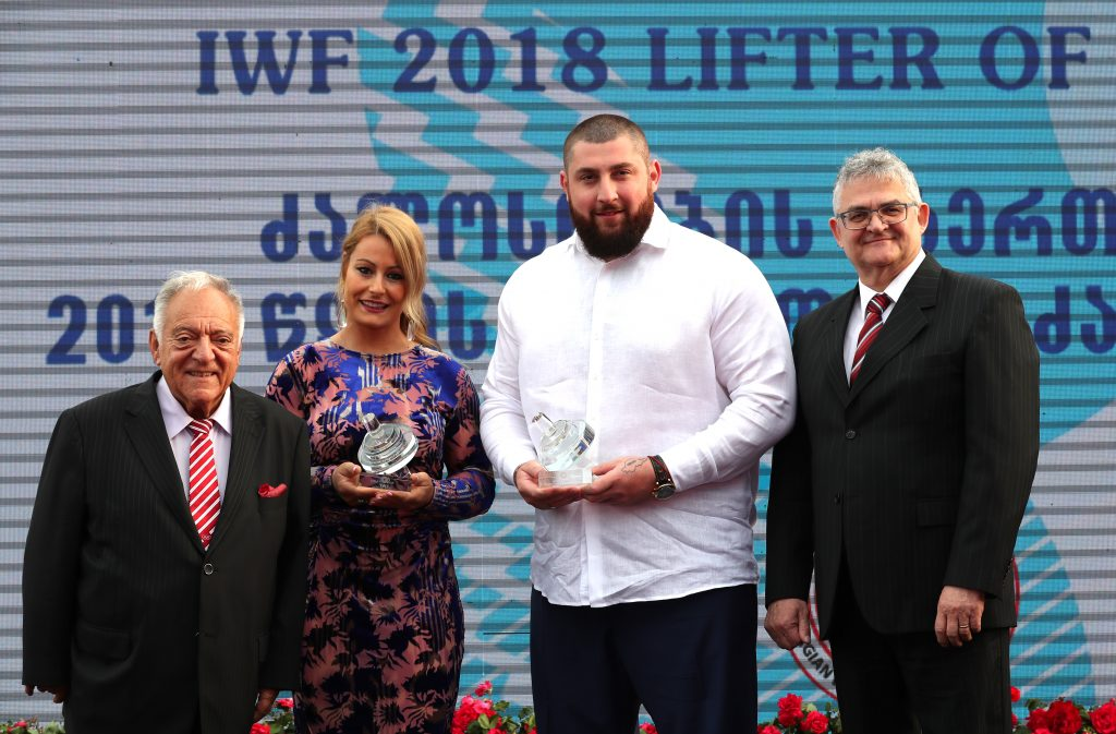 IWF Lifters of the Year 2018