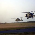 """British and French helicopters arrive for """"Swift Response 19"""""""