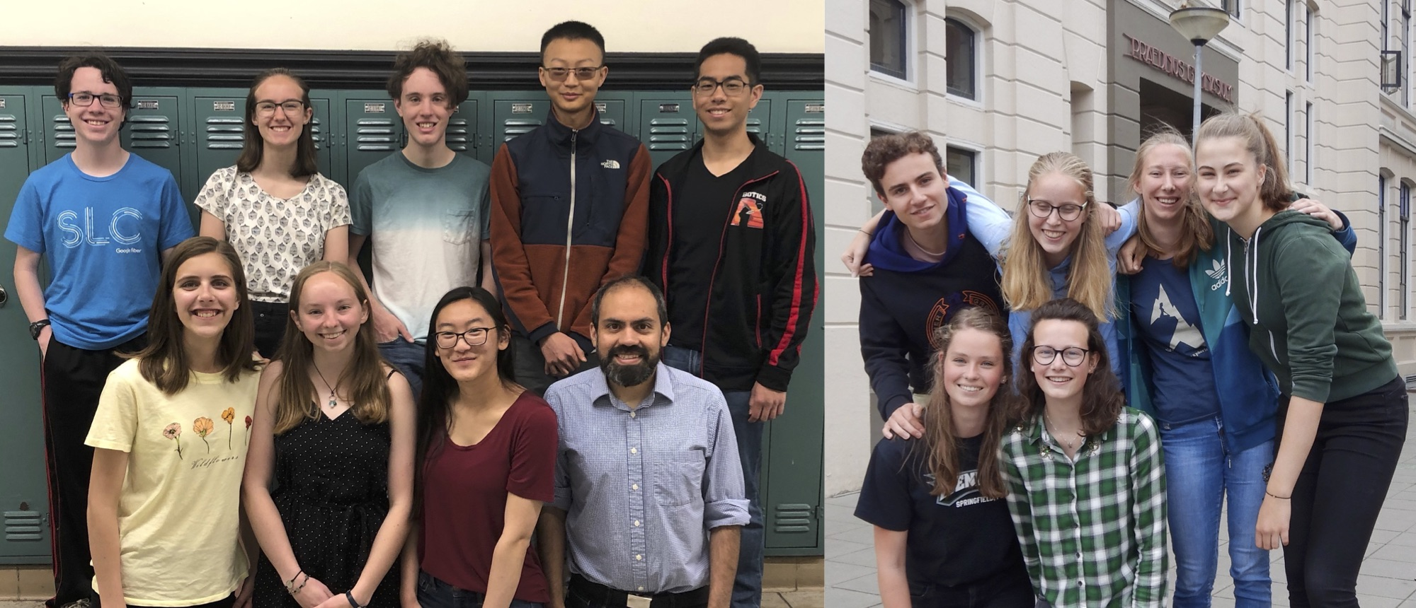 Dutch and US students win 2019 CERN Beamline