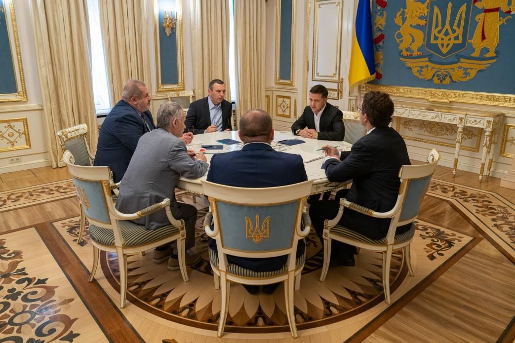 Ukraine Met with Crimean Tatar people