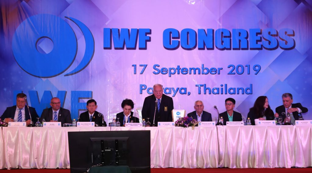 IWF: 1,100 in-competition tests on athletes from 89 countries for 2019