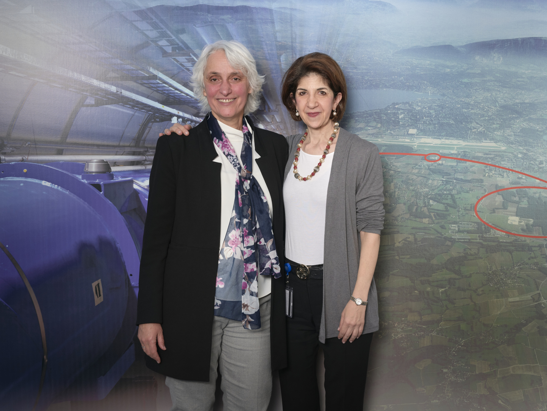Fabiola Gianotti as CERN Director General