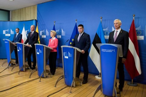 Estonia, Latvia, Lithuania, Poland and the European Commission confirm their commitment to connecting the electrical system of the Baltic states to Continental European grids