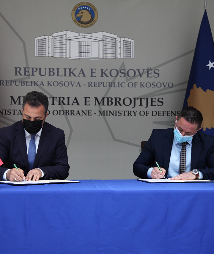 "Albania-Kosovo Strengthen Defence Cooperation as ""Defender Europe 2021"""